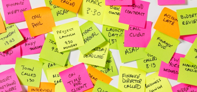 Happy birthday Post-it notes – you've stuck with us for 30 years