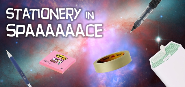 Stationery in Spaaace