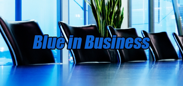 The Psychology of Blue in Business