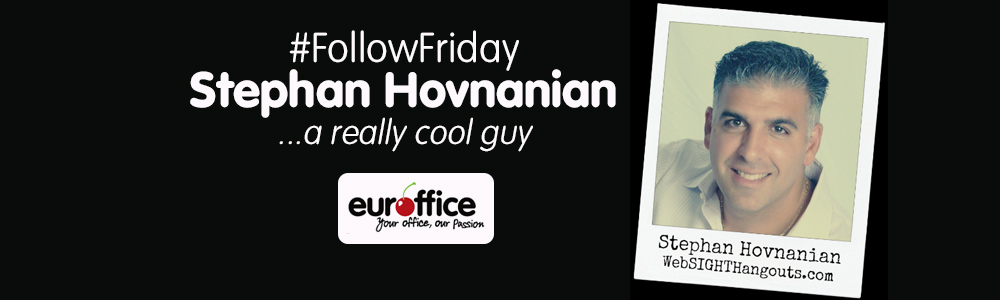 Euroffice Follow Friday: Stephan Hovnanian