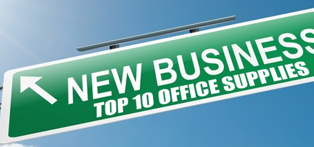 Top 10 Essential Office Supplies for a New Business