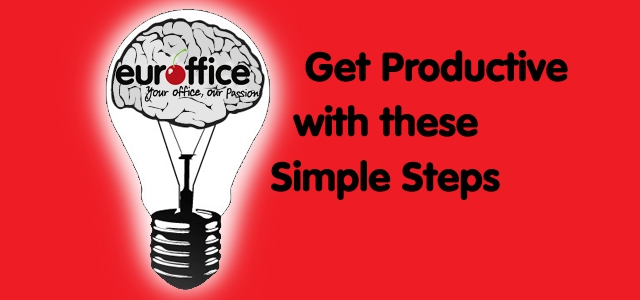Get productive with these simple tips