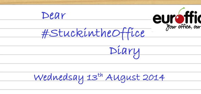 Dear #StuckInTheOffice Diary,