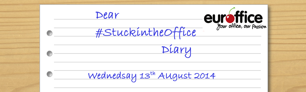Dear #StuckInTheOffice Diary,