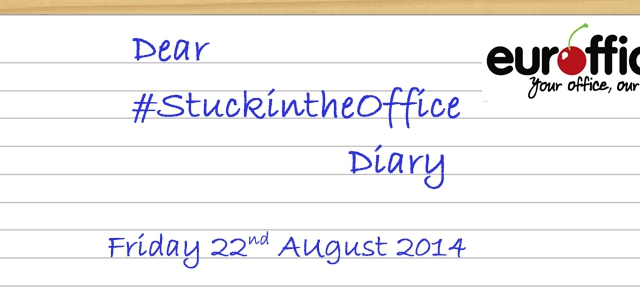 Dear #StuckInTheOffice Diary – #TheHangover Edition