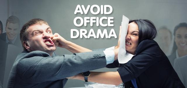 Avoiding Office Drama – Backstabbing and Biscotti