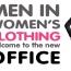 Men in Women's Clothing?