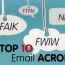 Top 10 Email Acronyms