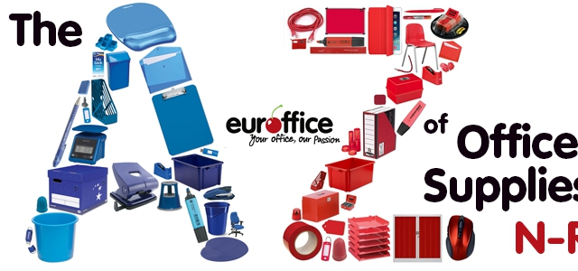 The A-Z of Office Supplies 'N-R'
