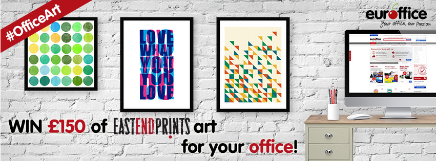 #OfficeArt Giveaway – Win £150 of Art for your Office!