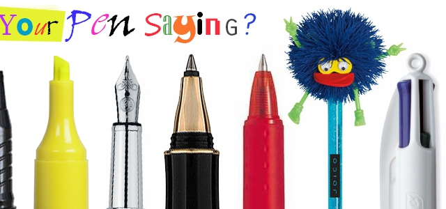 What Does Your Favourite Pen Say About You?