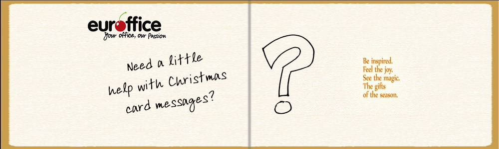 Need a little help with Christmas card messages?