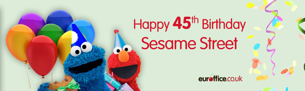 Happy 45th Birthday Sesame Street