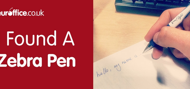 Dear Office Diary – I Found A Zebra Pen