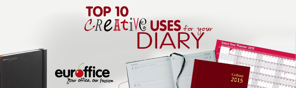 Top 10 Creative Uses For Your Diary