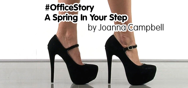#OfficeStory Winner – A Spring in your Step – by Joanna Campbell