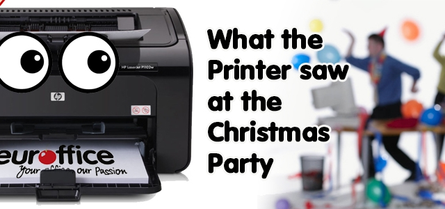 What the Printer Saw at the Christmas Party