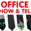 Show And Tell At Work Day  – Office Shoes, Socks And Ties