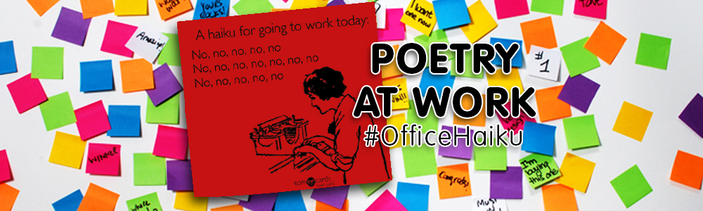 Get Your Pens Ready For Poetry At Work Day
