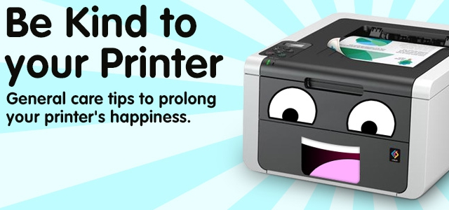 TLC for Printers… How to Care For Your Printer
