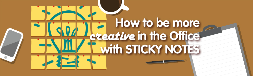 Creative Ways to Use Sticky Notes in The Office