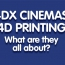 4DX Cinemas And 4D Printing.  What Are They All About?