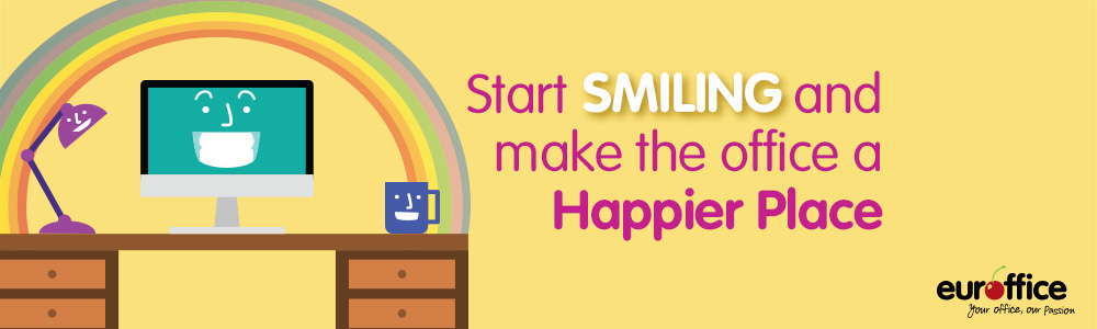 Start Smiling And Make The Office A Happier Place