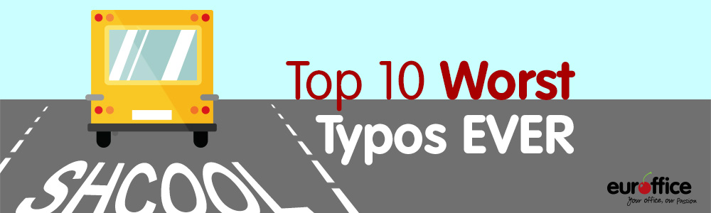 The Top Ten Weirdest and Worst Typos