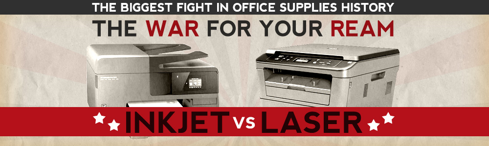 InkJet Vs. Laser Printers
