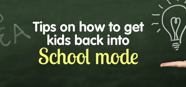 How To Get Your Kids (And Yourself) Ready For School