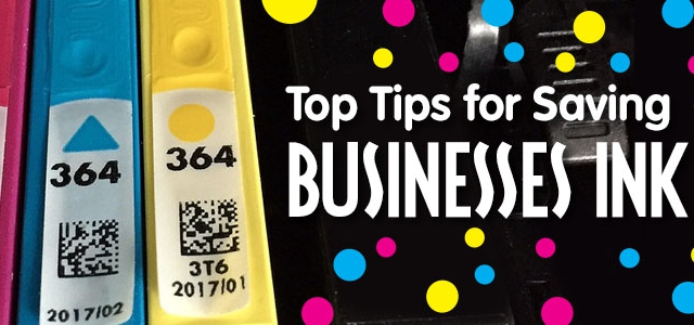 Top Tips For Saving Businesses Ink