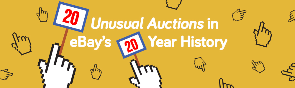 20 Unusual Auctions In eBay's 20 Year History