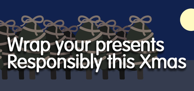 Wrap Your Presents Responsibly This Christmas