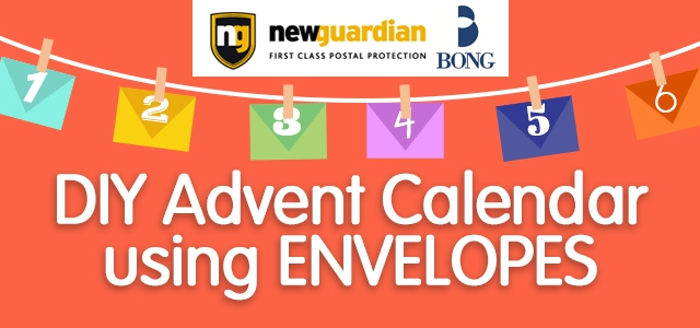 DIY Advent Calendar Using Envelopes