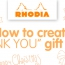 How to create 'Thank you' gift cards