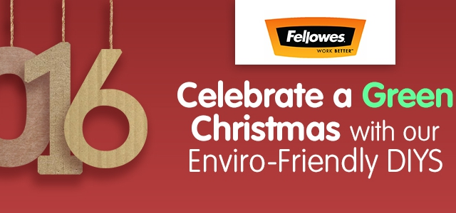Celebrate A Green Christmas With Our Enviro-Friendly DIYs