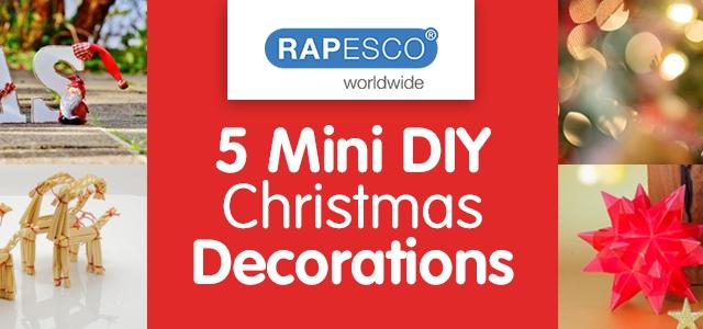 5 Mini DIY Christmas Decorations
