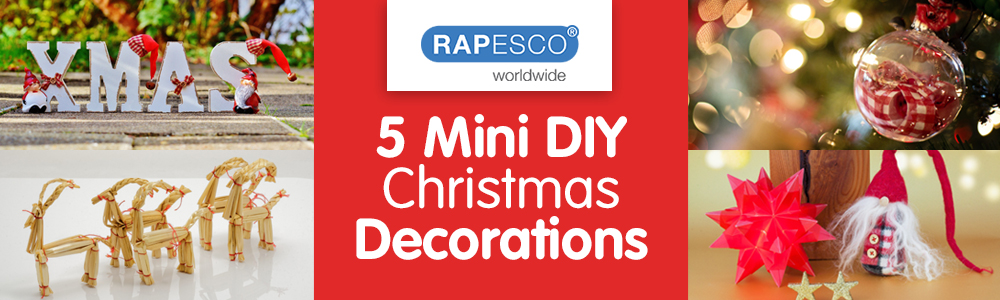 5 Mini DIY Christmas Decorations
