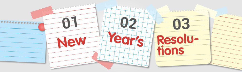 How To Succeed with your New Year's Resolutions