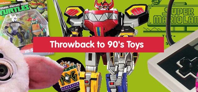 Throwback To 90s Toys