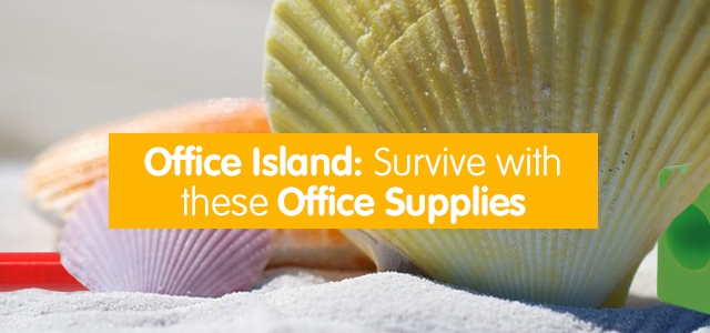 Office Island: Survive with these Office Supplies