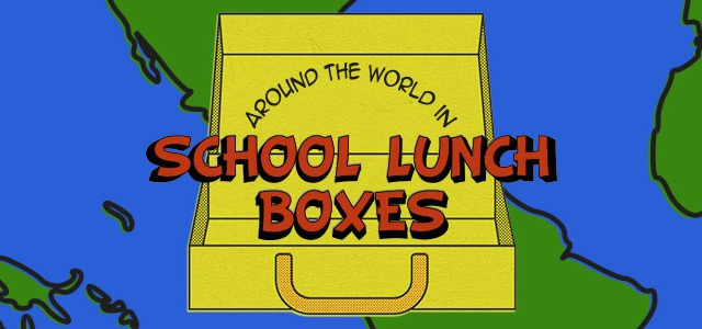 Around the world in school lunches