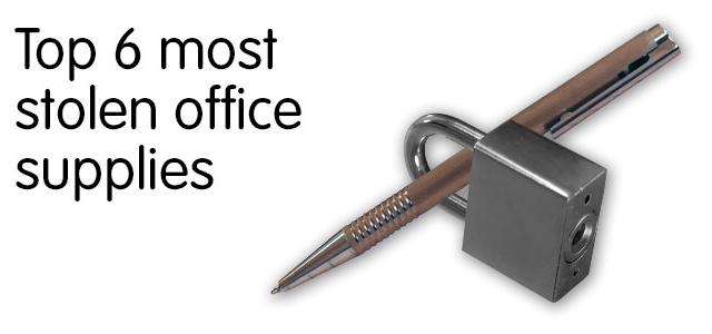Top 7 most stolen office supplies products