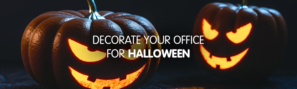 Decorate your office for Halloween
