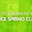 How To Streamline Your Office Spring Clean