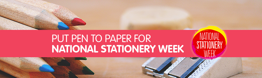 Put Pen To Paper For National Stationery Week