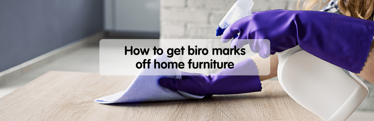 Easy ways to get biro marks off home furniture