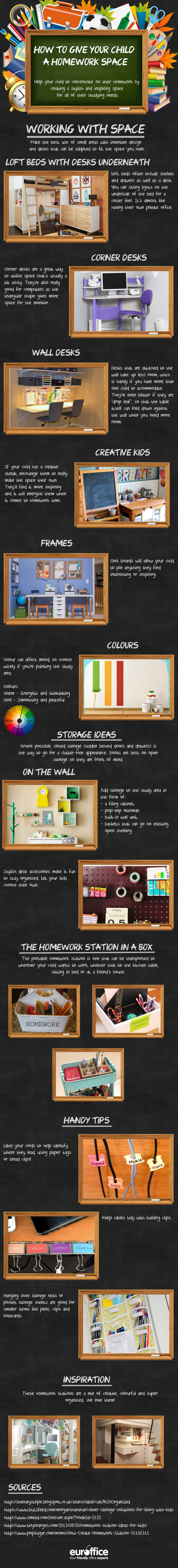 Giving Your Child the Perfect Homework Station